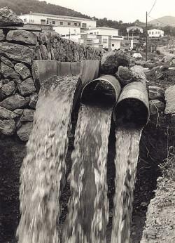 Aforament d'aigua del pou Collado I de Canyelles