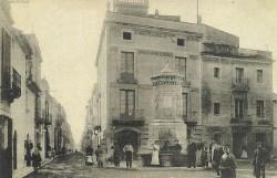 Font de la plaça Miró, dedicada a Josep A. Vidal i Pascual